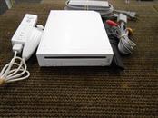 NINTENDO WII CONSOLE W/CONTROLLER/NUNCHUCK (RVL-001) WHITE